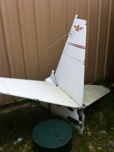 Mooney tail section